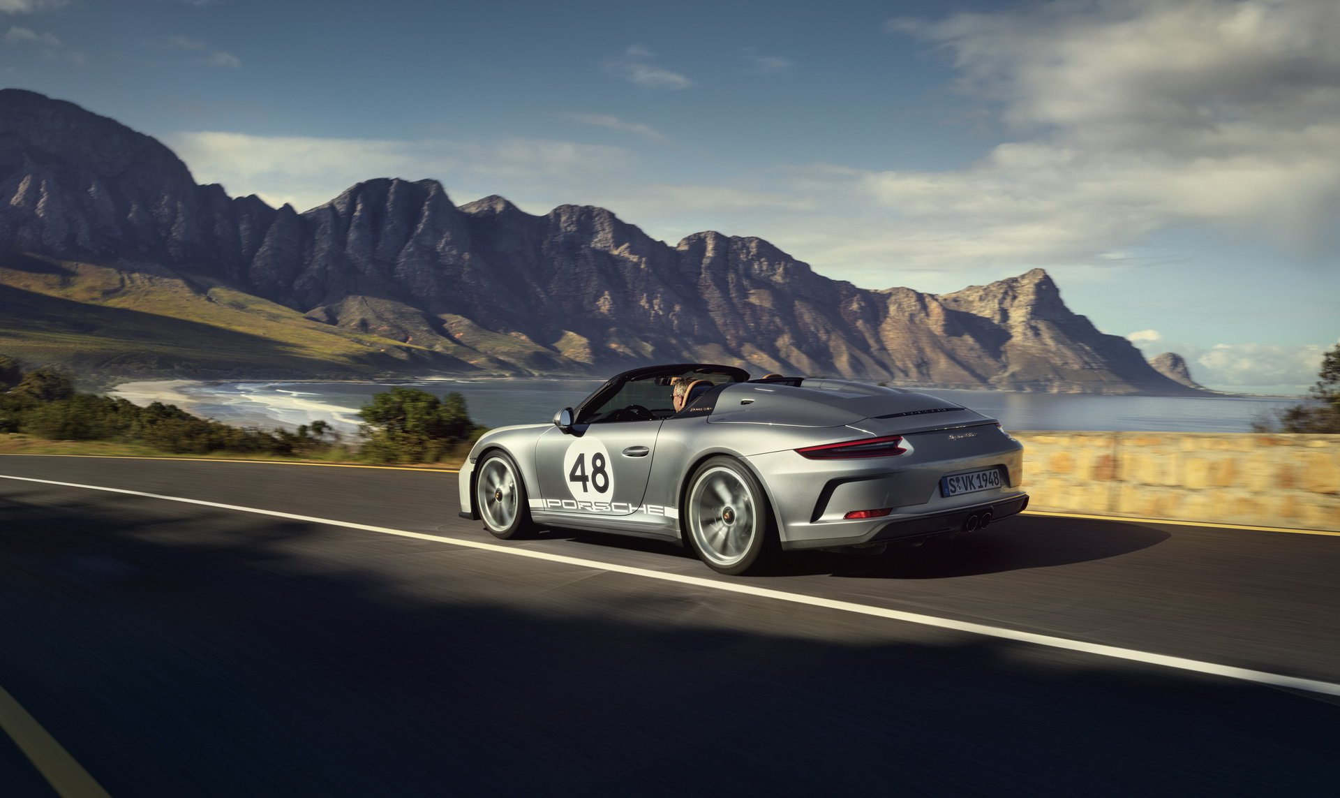 2019 Porsche 911 Speedster with Heritage Design Package Rear Three-Quarter Wallpapers (3)