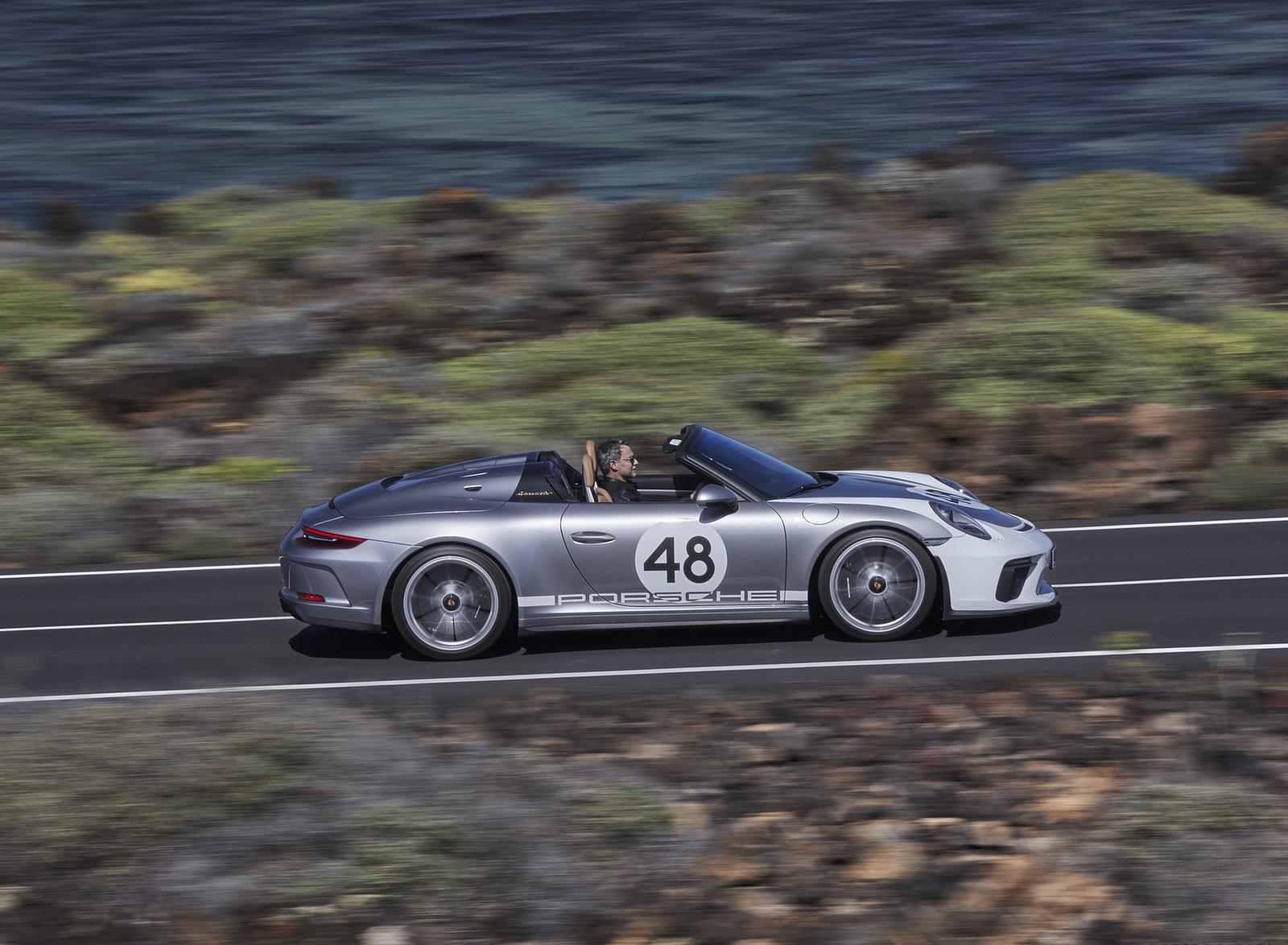 2019 Porsche 911 Speedster with Heritage Design Package Side Wallpapers (11)