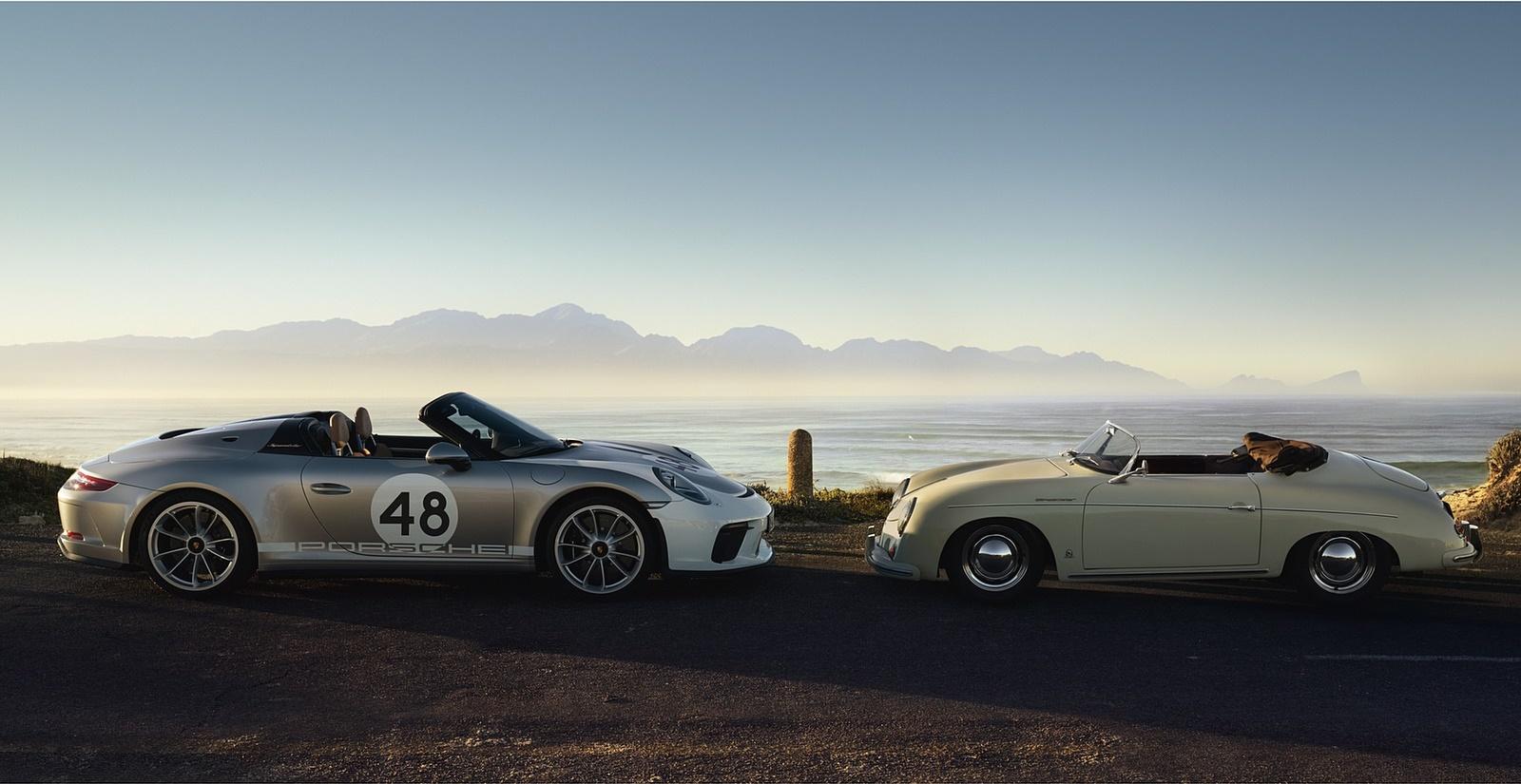 2019 Porsche 911 Speedster with Heritage Design Package and Porsche 356 Speedster Wallpapers (12)