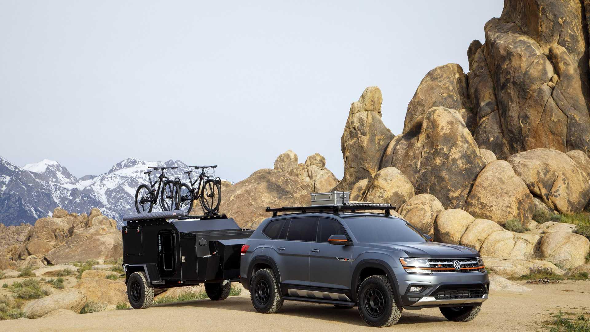 2019 Volkswagen Atlas Basecamp Concept Front Three-Quarter Wallpapers (7)