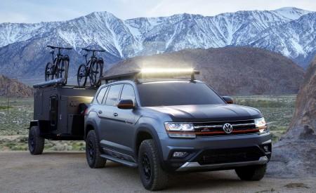 2019 Volkswagen Atlas Basecamp Concept Front Wallpaper 450x275 (18)