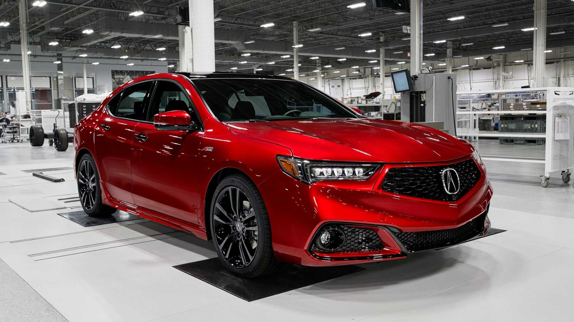 2020 Acura TLX PMC Edition Front Three-Quarter Wallpaper (3)
