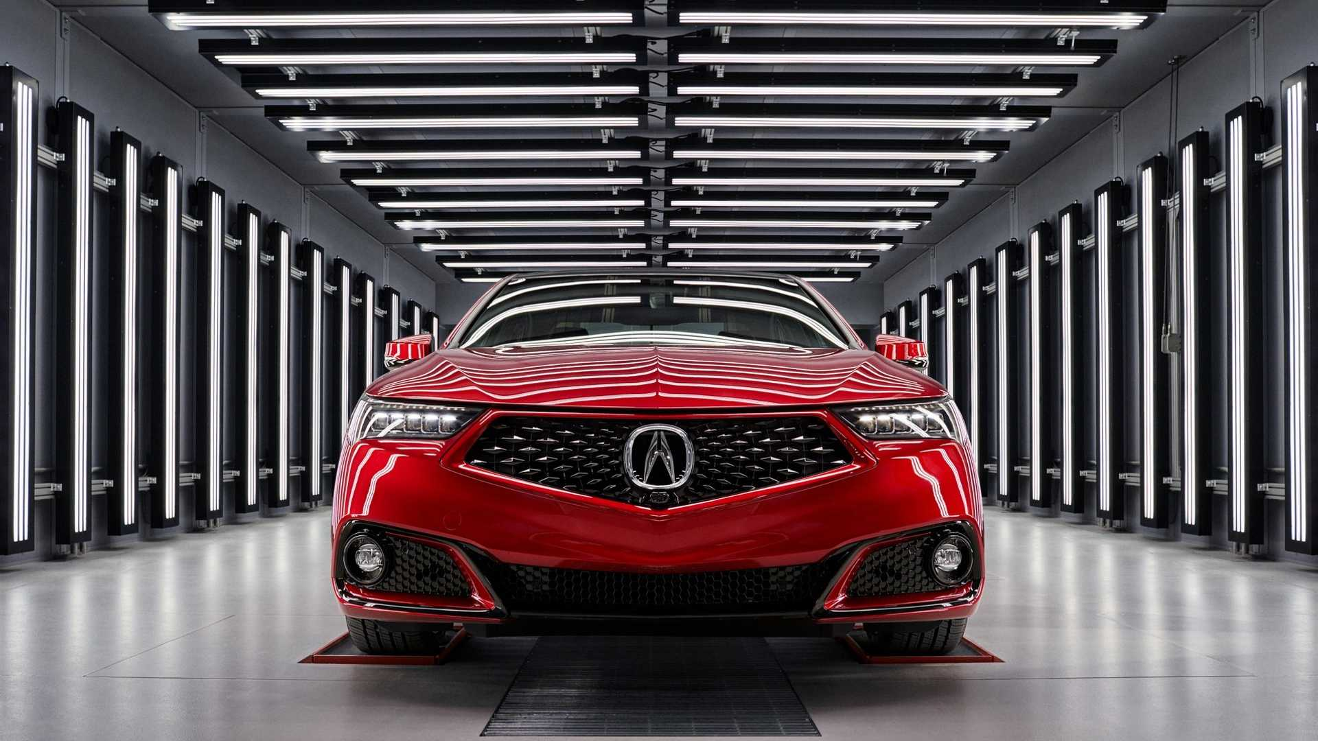 2020 Acura TLX PMC Edition Front Wallpaper (2)