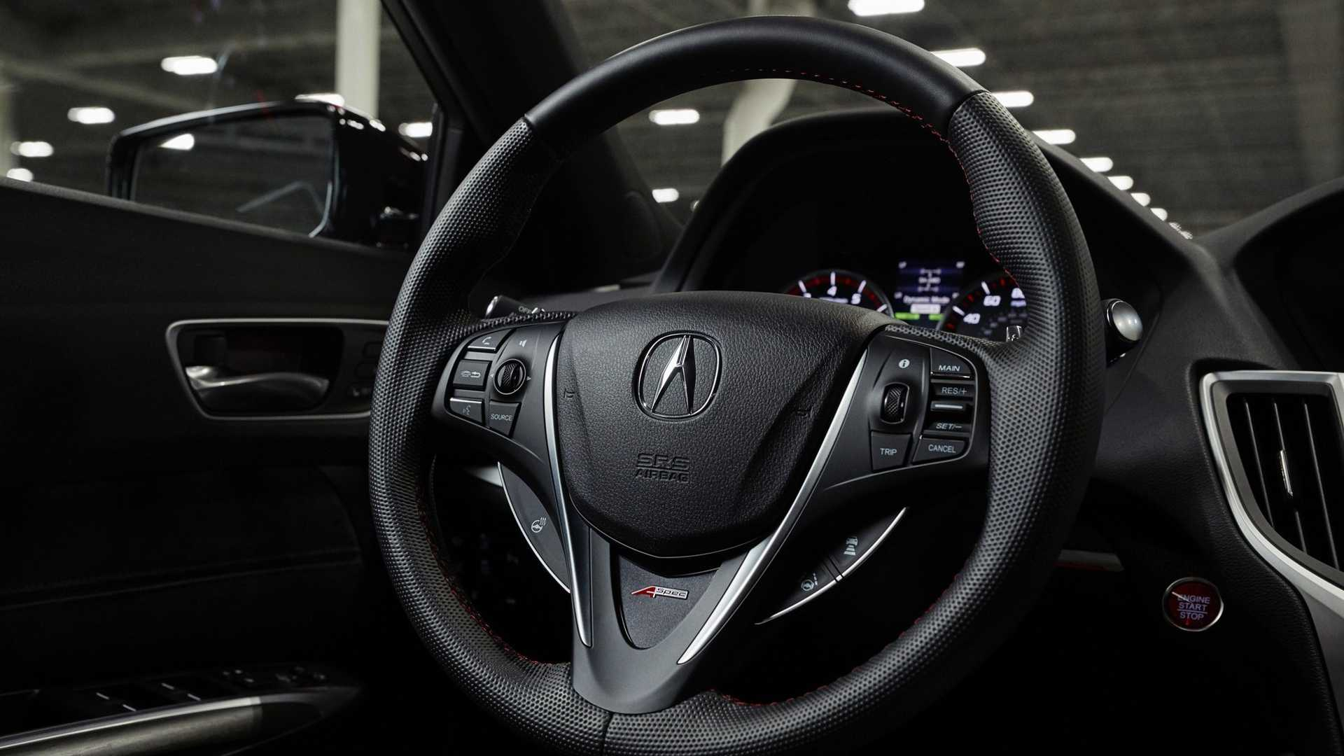 2020 Acura Tlx Pmc Edition Interior Steering Wheel Wallpapers 35 Newcarcars