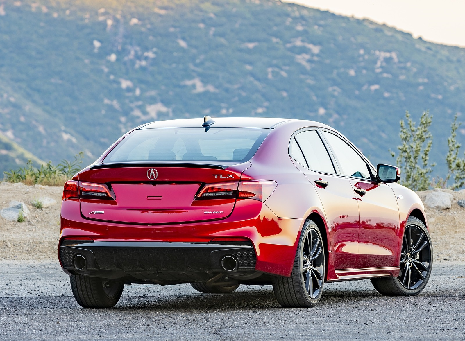 2020 Acura TLX PMC Edition Rear Three-Quarter Wallpapers (7)