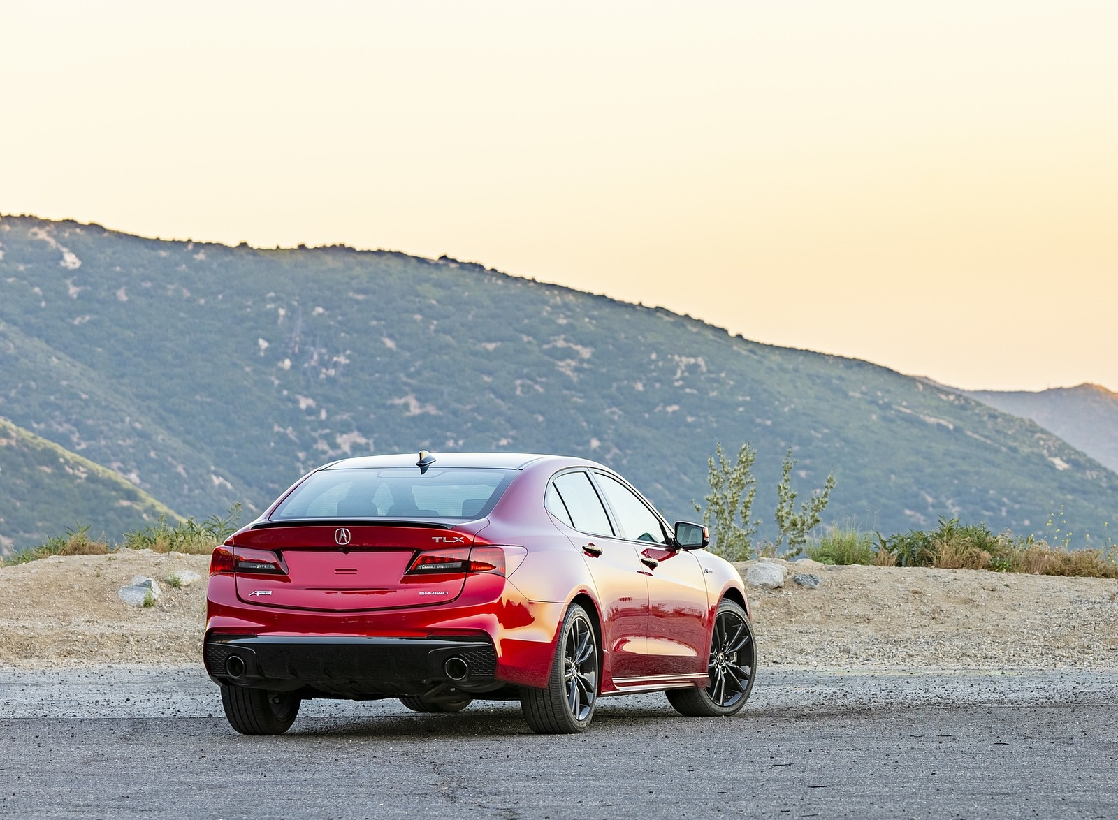 2020 Acura TLX PMC Edition Rear Three-Quarter Wallpapers (8)