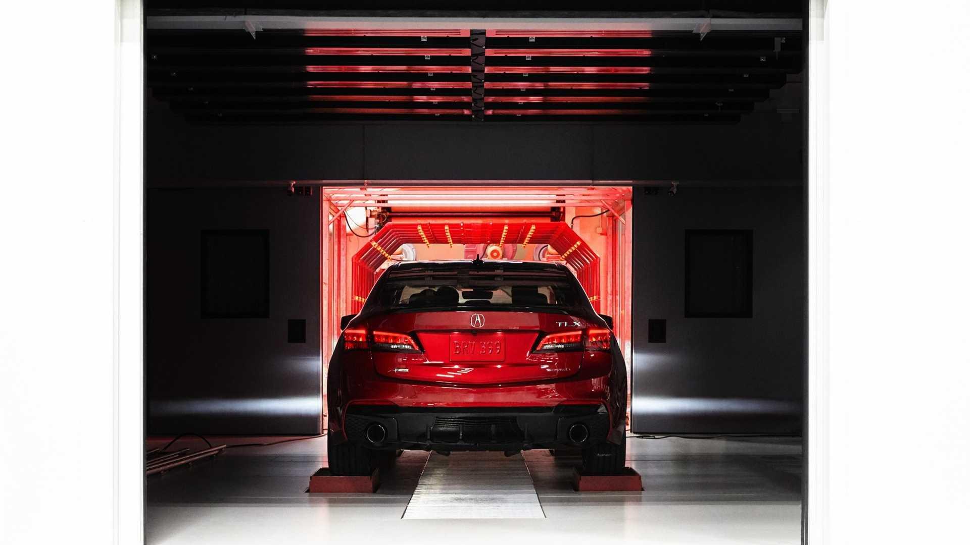 2020 Acura TLX PMC Edition Rear Wallpaper (9)