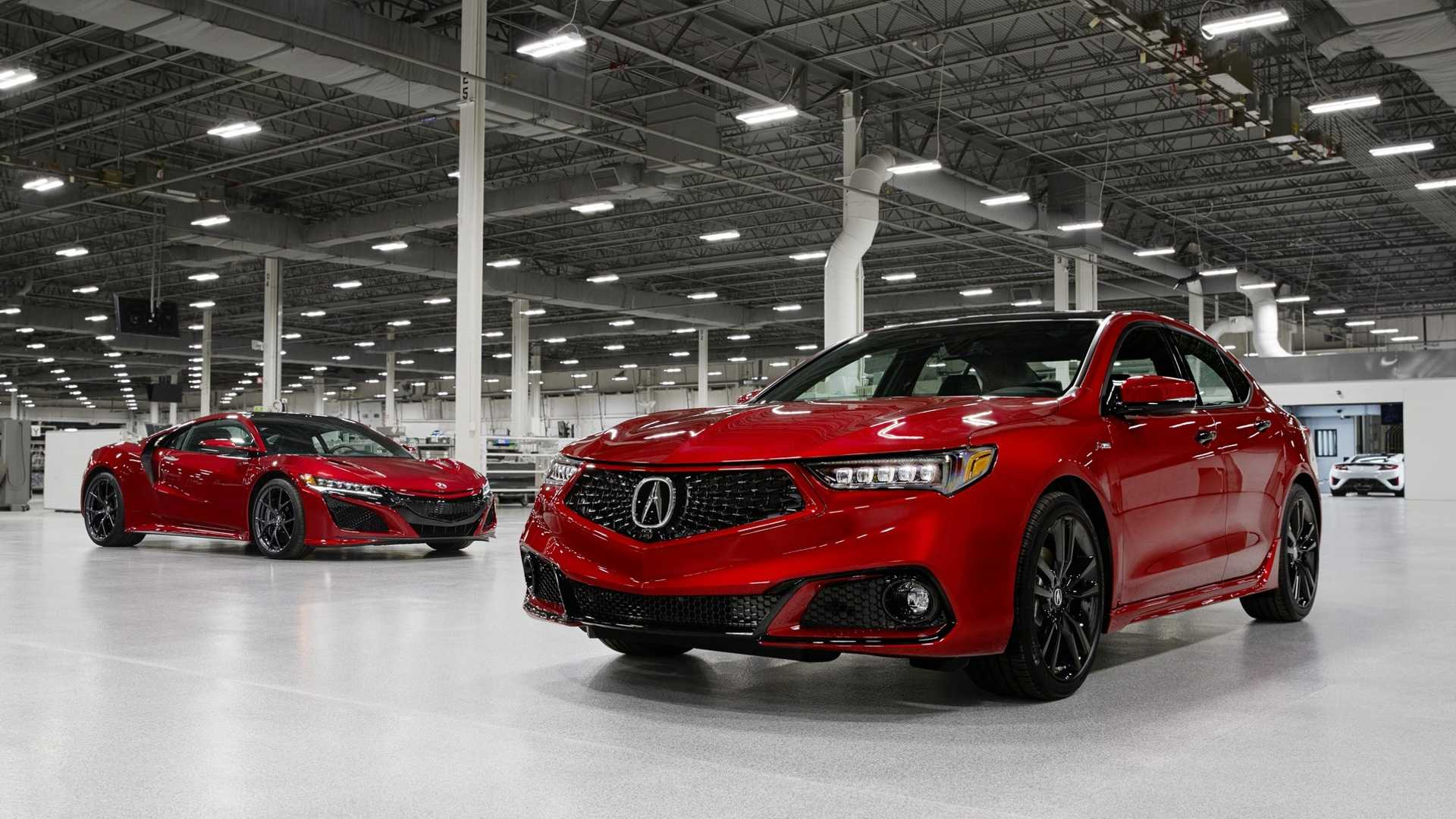 2020 Acura TLX PMC Edition and Acura NSX Wallpaper (1)
