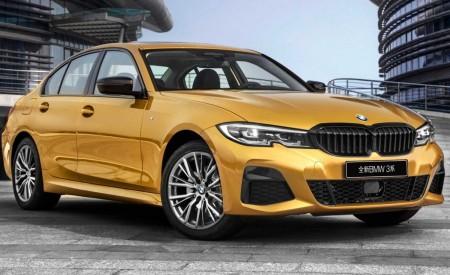 2020 BMW 3 Series Sedan Long Wheelbase Front Three-Quarter Wallpapers 450x275 (7)