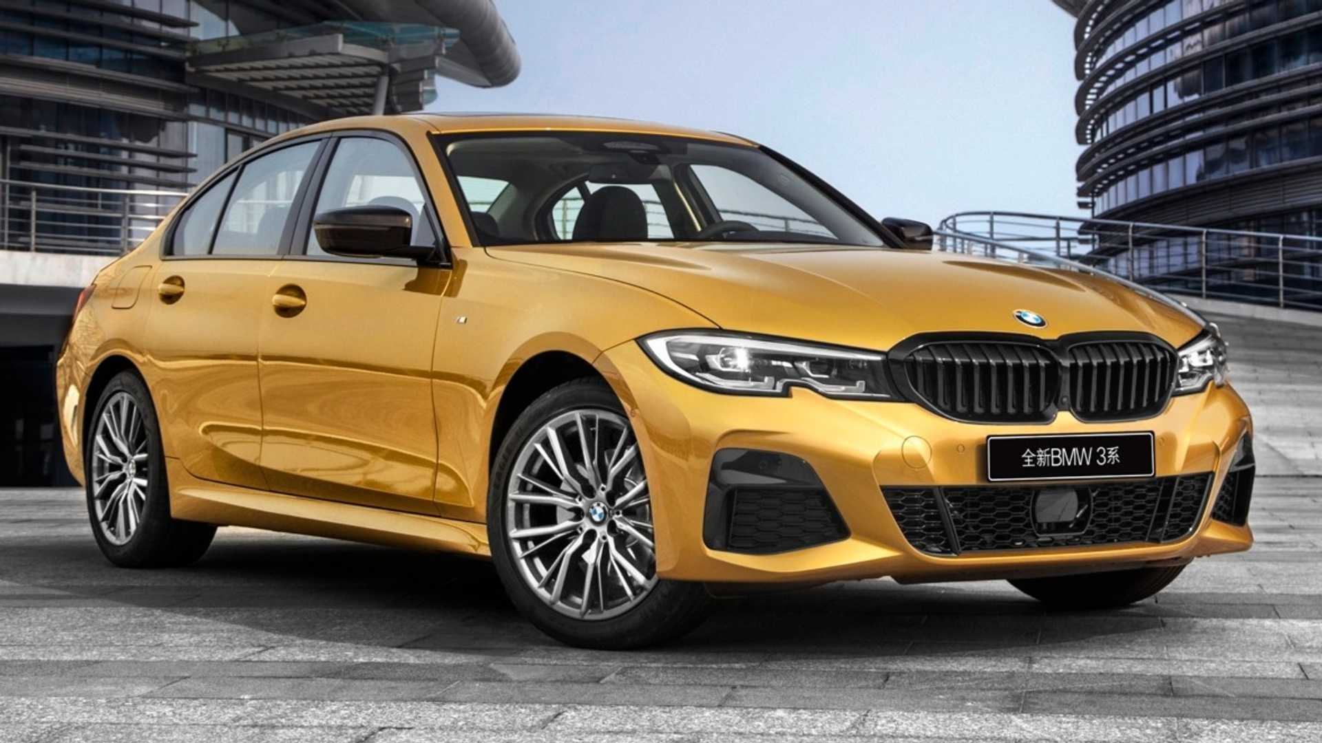 2020 BMW 3 Series Sedan Long Wheelbase Front Three-Quarter Wallpapers (7)