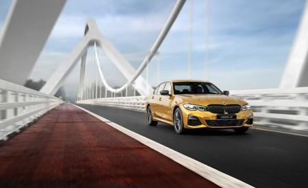 2020 BMW 3 Series Sedan Long Wheelbase Front Three-Quarter Wallpapers 450x275 (6)