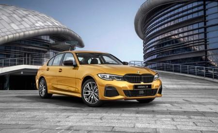 2020 BMW 3 Series Sedan Long Wheelbase Front Three-Quarter Wallpapers 450x275 (8)