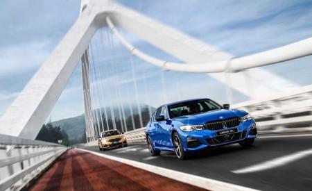 2020 BMW 3 Series Sedan Long Wheelbase Front Three-Quarter Wallpapers 450x275 (5)
