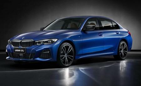 2020 BMW 3 Series Sedan Long Wheelbase Front Three-Quarter Wallpapers 450x275 (12)