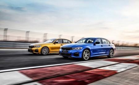 2020 BMW 3 Series Sedan Long Wheelbase Front Three-Quarter Wallpapers 450x275 (3)