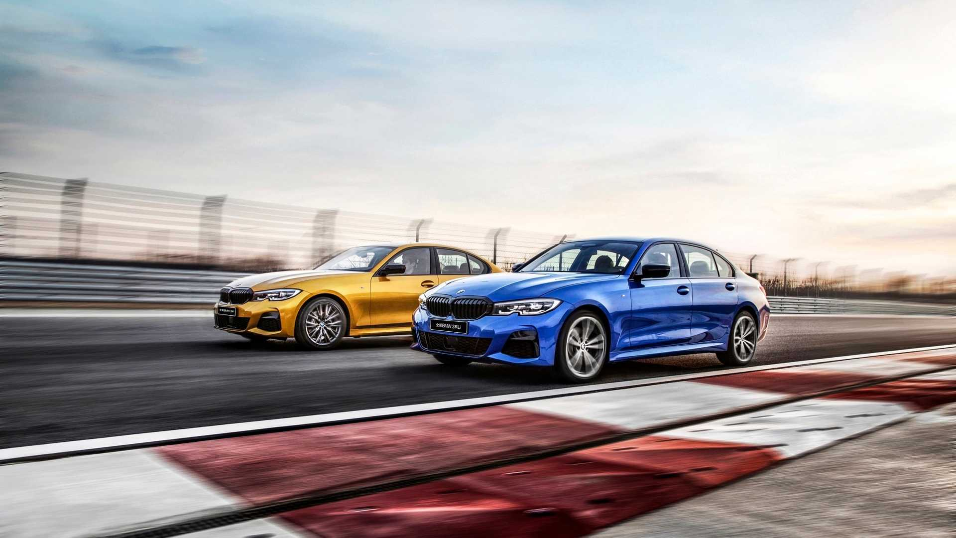 2020 BMW 3 Series Sedan Long Wheelbase Front Three-Quarter Wallpapers (3)
