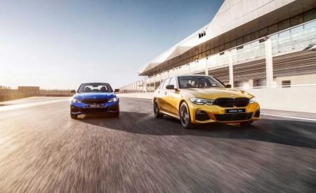 2020 BMW 3 Series Sedan Long Wheelbase Front Wallpapers 450x275 (2)