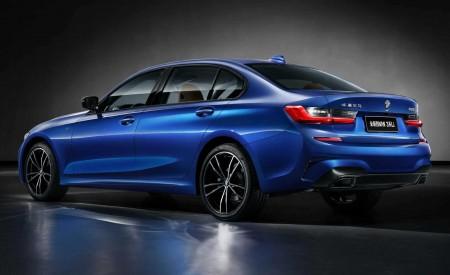 2020 BMW 3 Series Sedan Long Wheelbase Rear Three-Quarter Wallpapers 450x275 (13)