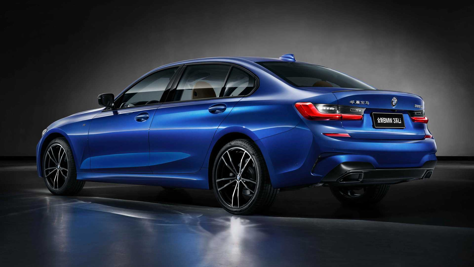 2020 BMW 3 Series Sedan Long Wheelbase Rear Three-Quarter Wallpapers (13)
