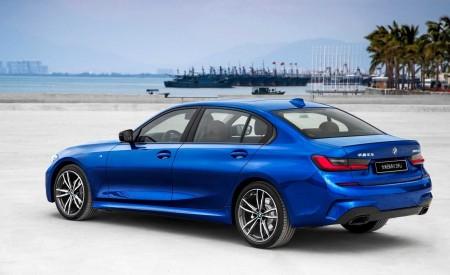 2020 BMW 3 Series Sedan Long Wheelbase Rear Three-Quarter Wallpapers 450x275 (9)