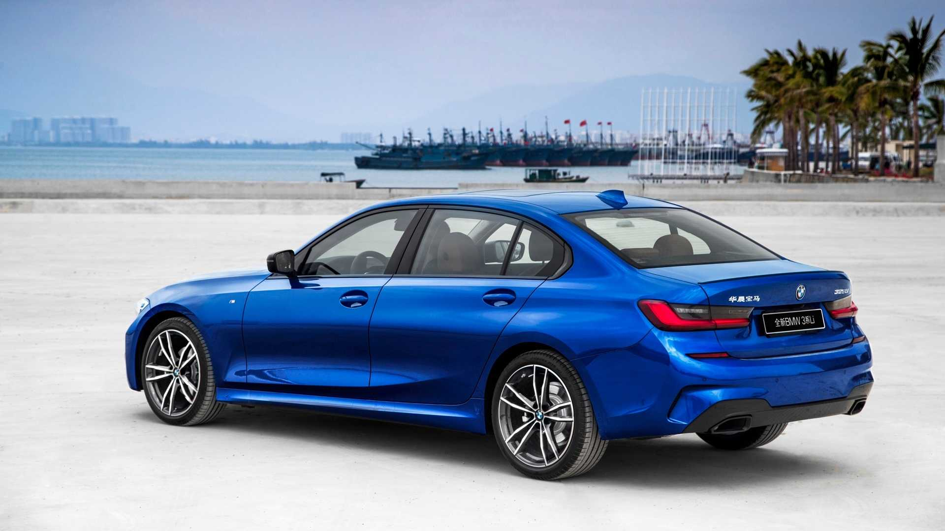 2020 BMW 3 Series Sedan Long Wheelbase Rear Three-Quarter Wallpapers (9)