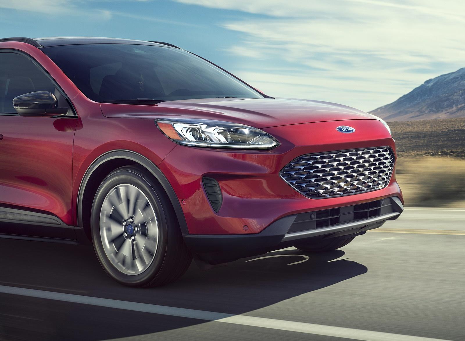 2020 Ford Escape Hybrid Detail Wallpapers (4)