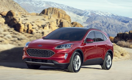 2020 Ford Escape And Escape Hybrid Wallpapers