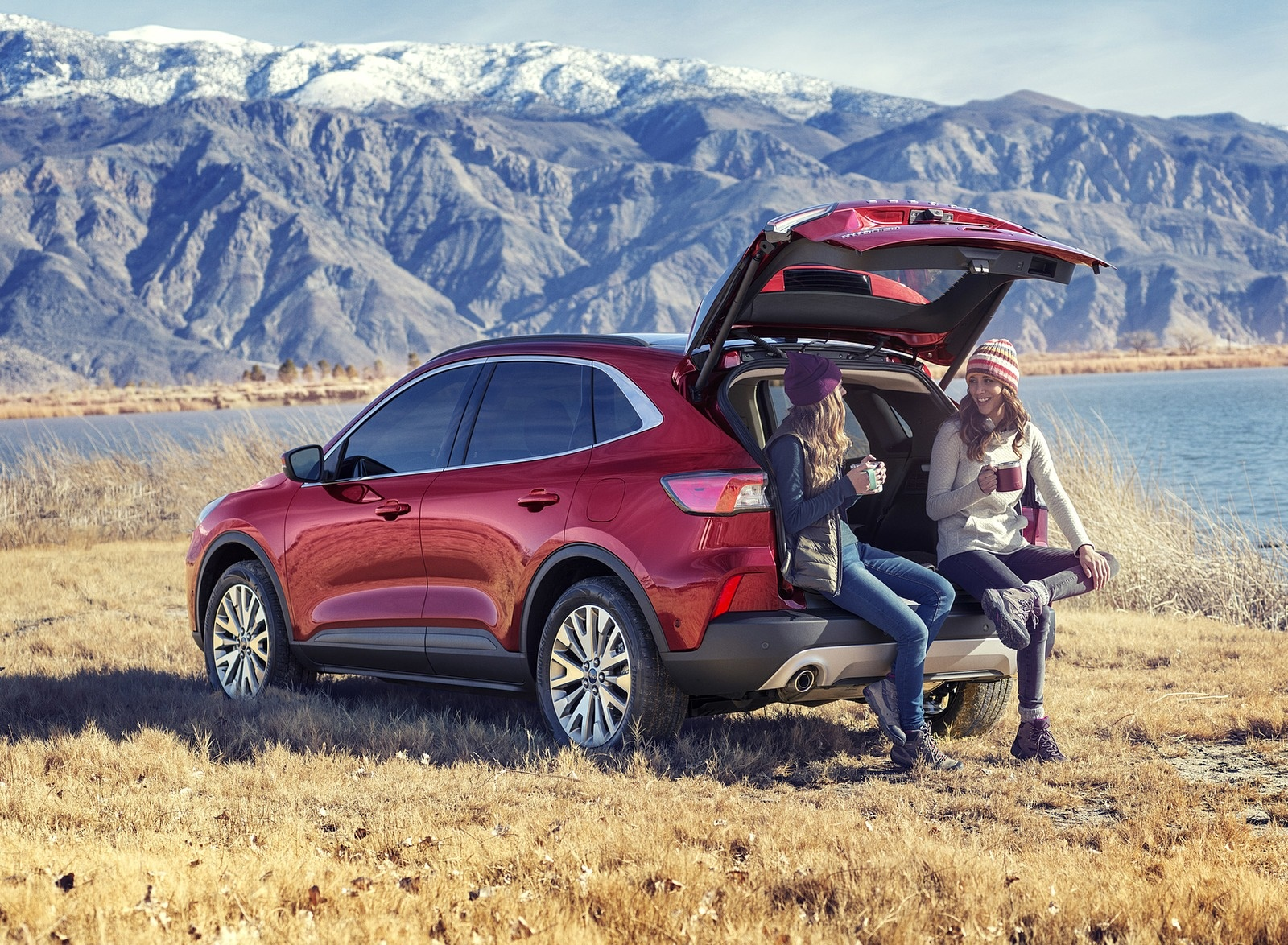 2020 Ford Escape Hybrid Rear Three-Quarter Wallpapers (11)