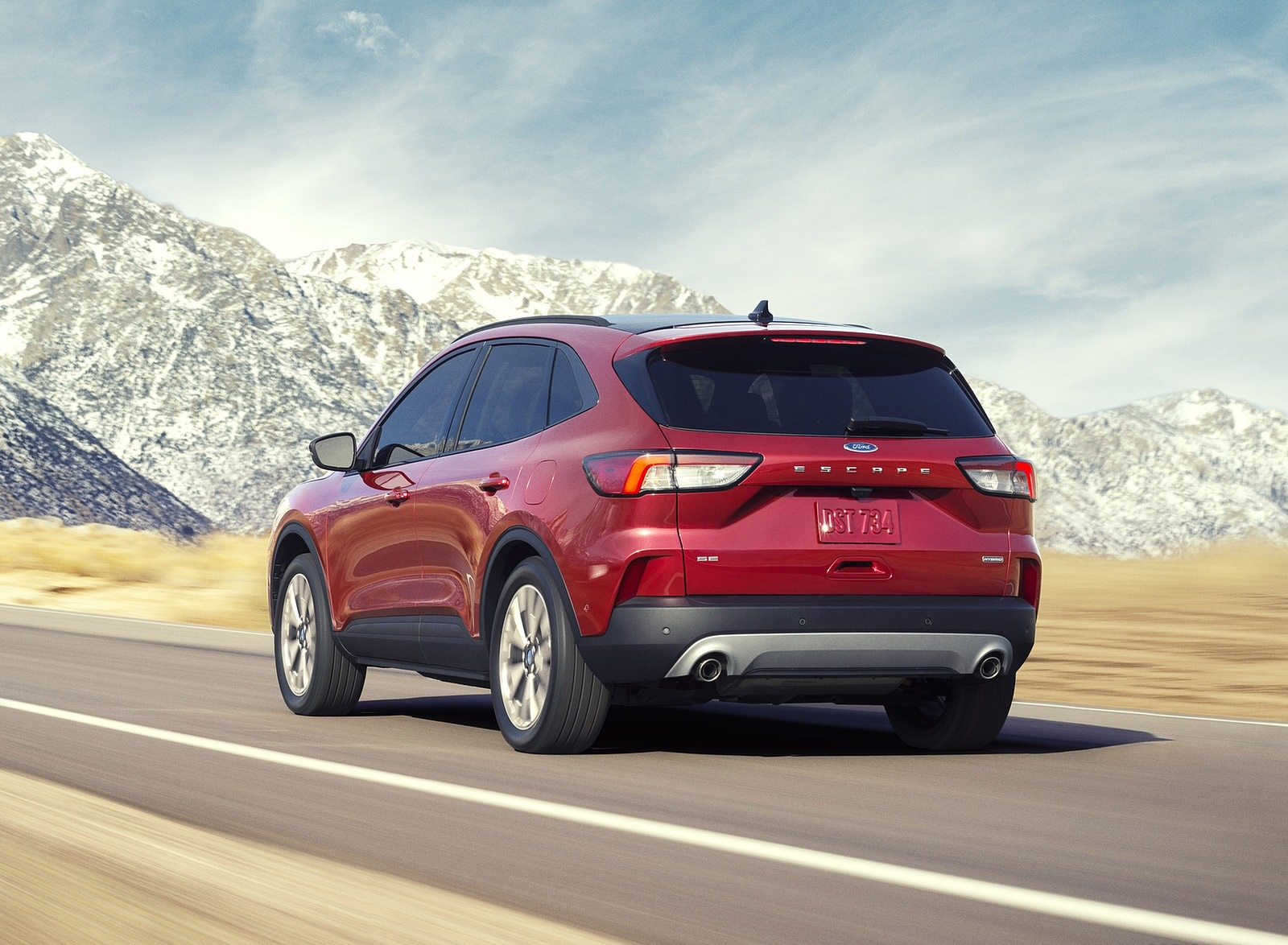 2020 Ford Escape Hybrid Rear Three-Quarter Wallpapers (2)