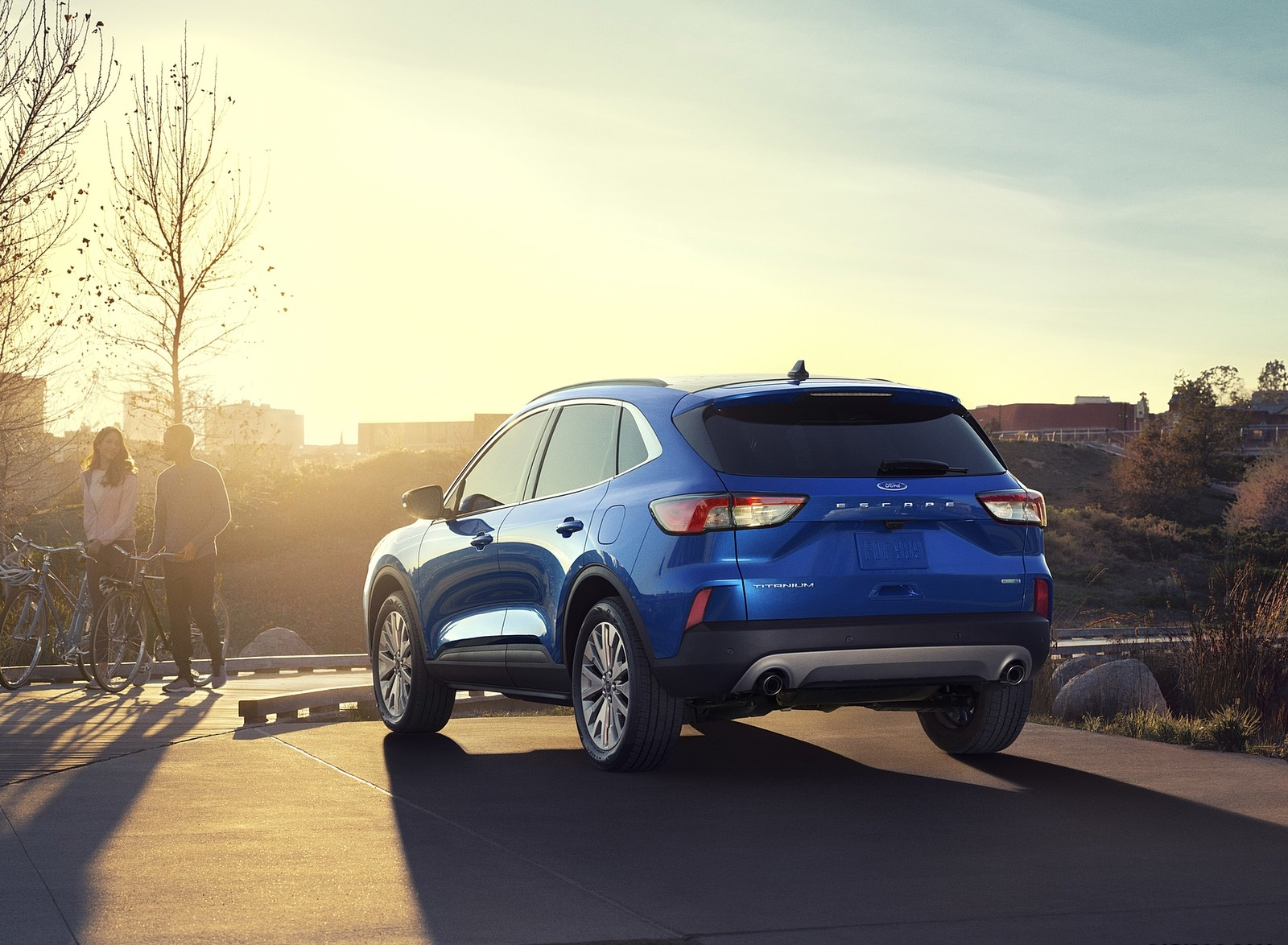 2020 Ford Escape Rear Three-Quarter Wallpapers (6)