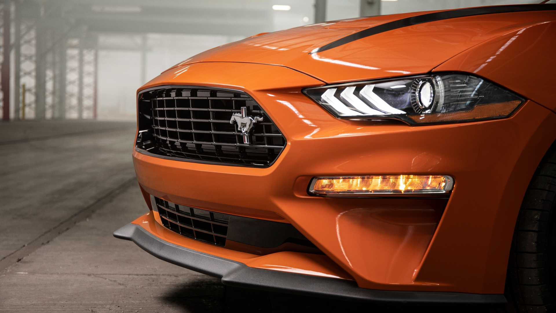 2020 Ford Mustang 2.3L High Performance Package Headlight Wallpapers (12)