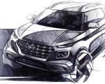 2020 Hyundai Venue Design Sketch Wallpapers 150x120 (26)