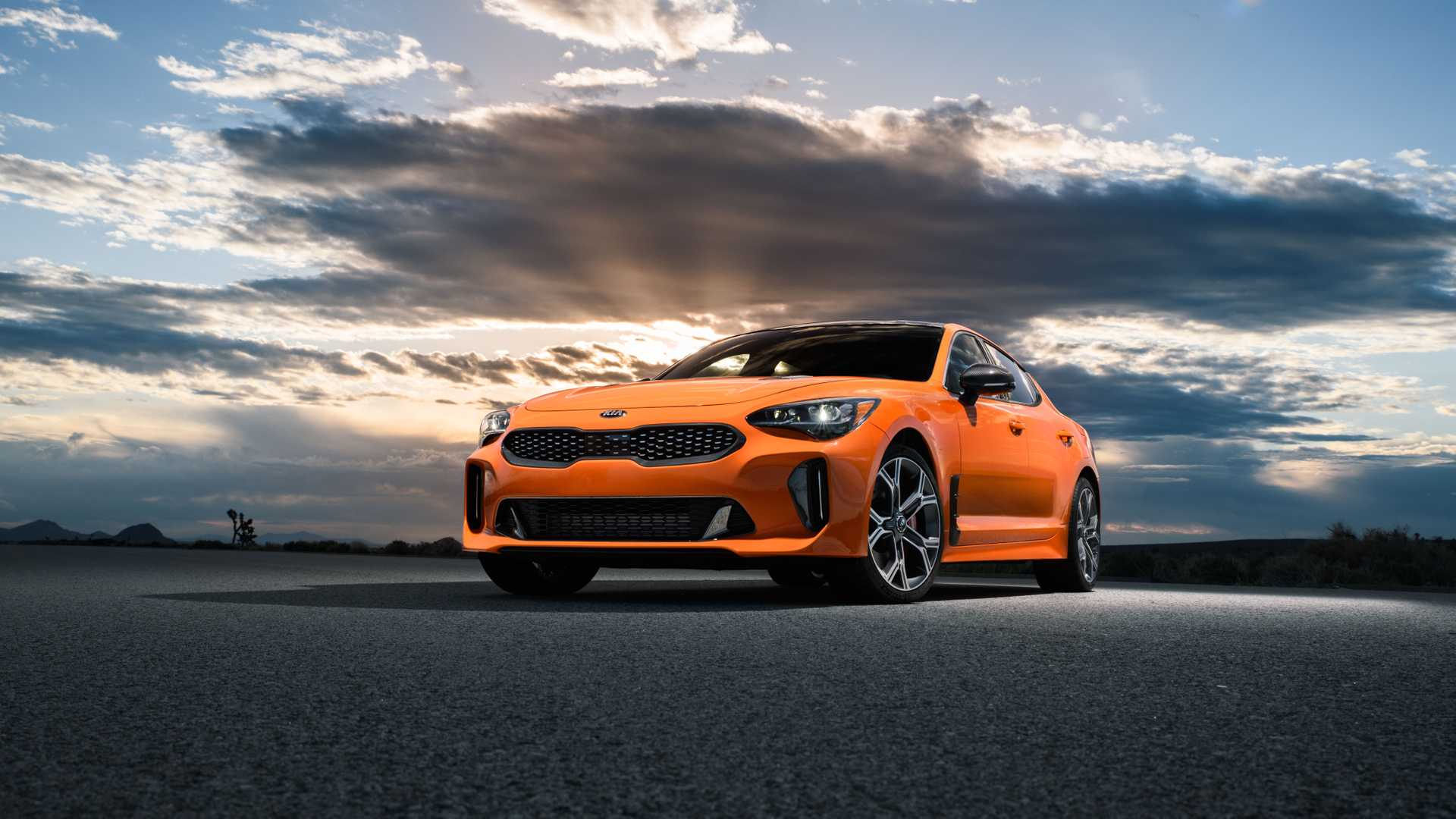 2020 Kia Stinger GTS Front Three-Quarter Wallpapers (4)
