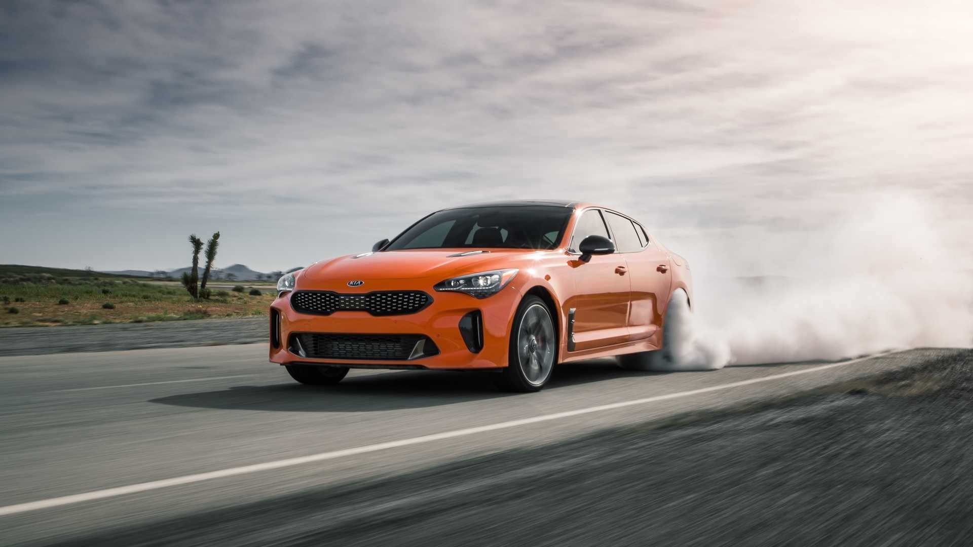 2020 Kia Stinger GTS Front Three-Quarter Wallpapers (1)