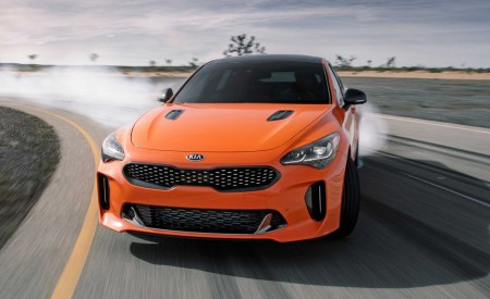 2020 Kia Stinger GTS Front Wallpaper 450x275 (2)