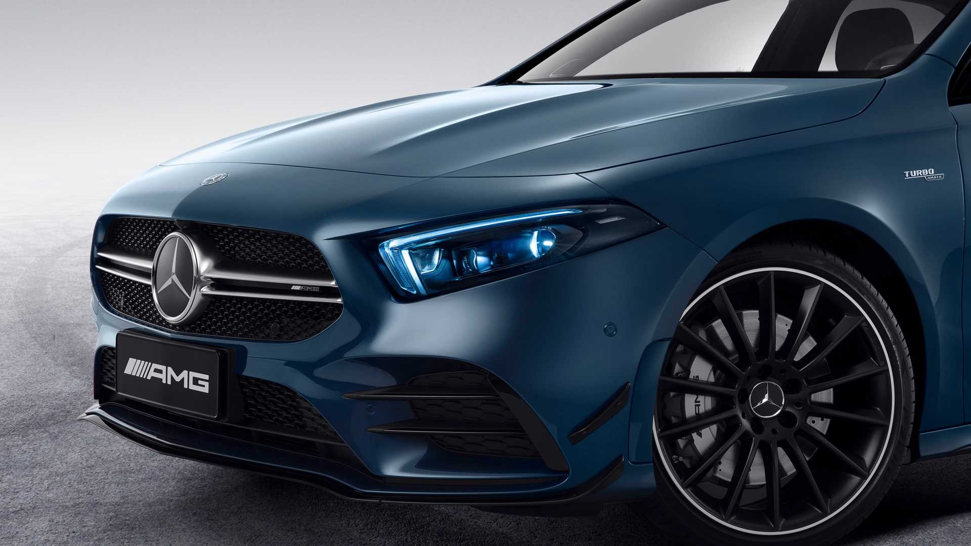 2020 Mercedes-AMG A35 L Sedan 4MATIC Detail Wallpaper (7)