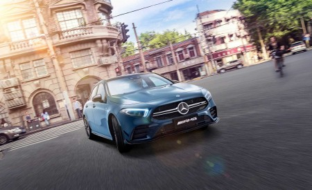 2020 Mercedes-AMG A35 L Sedan Wallpapers HD