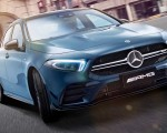 2020 Mercedes-AMG A35 L Sedan 4MATIC Front Wallpapers 150x120 (2)