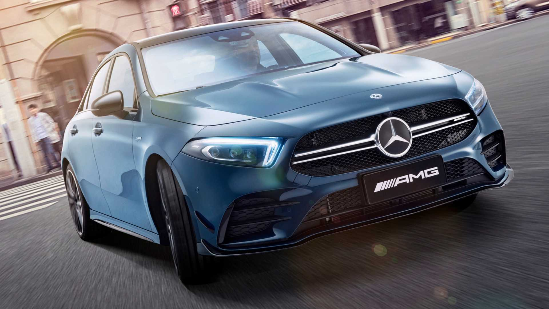 2020 Mercedes-AMG A35 L Sedan 4MATIC Front Wallpaper (2)