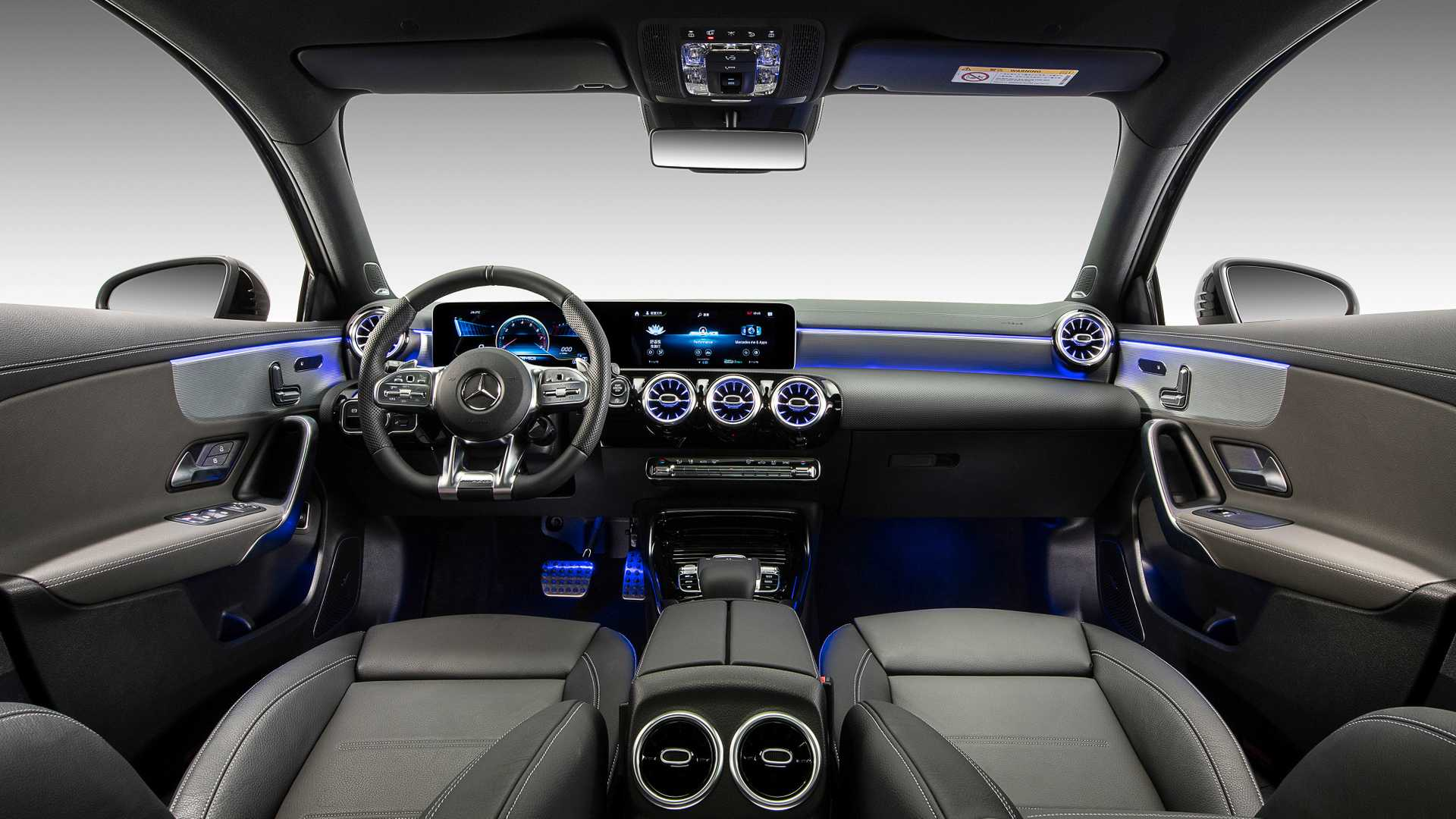 2020 Mercedes-AMG A35 L Sedan 4MATIC Interior Cockpit Wallpaper (12)