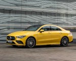 2020 Mercedes-AMG CLA 35 4MATIC (Color: Sun Yellow) Front Three-Quarter Wallpapers 150x120 (14)
