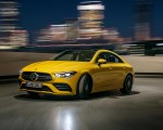 2020 Mercedes-AMG CLA 35 4MATIC (Color: Sun Yellow) Front Three-Quarter Wallpapers 150x120 (6)