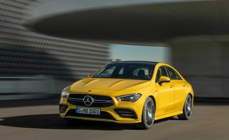 2020 Mercedes-AMG CLA 35 Wallpapers HD