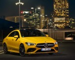2020 Mercedes-AMG CLA 35 4MATIC (Color: Sun Yellow) Front Three-Quarter Wallpapers 150x120 (7)