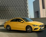 2020 Mercedes-AMG CLA 35 4MATIC (Color: Sun Yellow) Front Three-Quarter Wallpapers 150x120 (2)