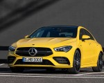 2020 Mercedes-AMG CLA 35 4MATIC (Color: Sun Yellow) Front Wallpapers 150x120 (15)