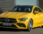 2020 Mercedes-AMG CLA 35 4MATIC (Color: Sun Yellow) Front Wallpapers 150x120 (3)