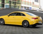 2020 Mercedes-AMG CLA 35 4MATIC (Color: Sun Yellow) Rear Three-Quarter Wallpapers 150x120 (16)