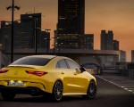 2020 Mercedes-AMG CLA 35 4MATIC (Color: Sun Yellow) Rear Three-Quarter Wallpapers 150x120 (8)