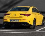 2020 Mercedes-AMG CLA 35 4MATIC (Color: Sun Yellow) Rear Wallpapers 150x120 (17)